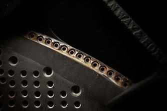 Steinway & Sons Gussplatte im Rohzustand